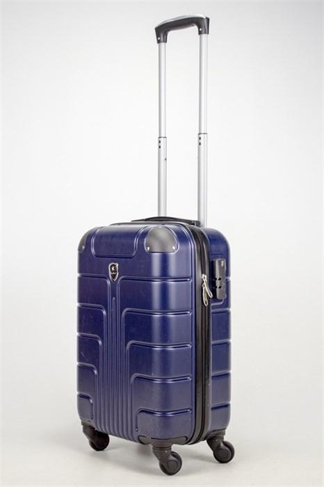 Чемодан маленький ABS Smart Travel темно-синий - фото 37464