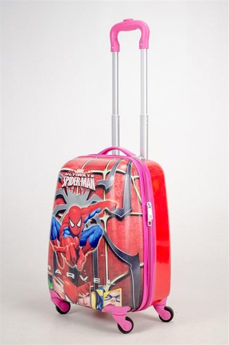 Детский чемодан PC на колесиках красный  12991 - фото 38474