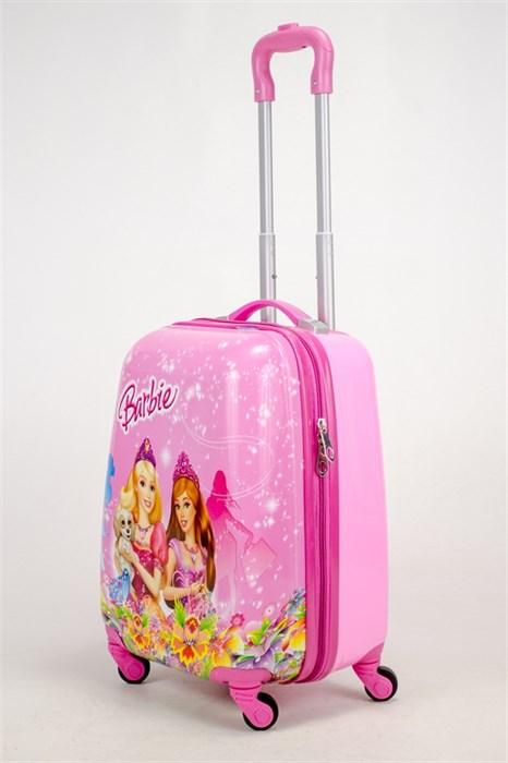 Детский чемодан PC на колесиках розовый - фото 38562