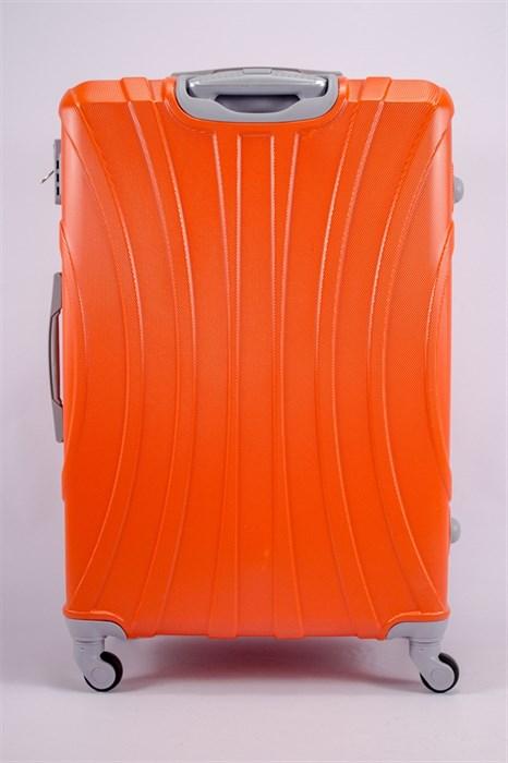 Чемодан большой ABS KK (черепаха) оранжевый - фото 39771