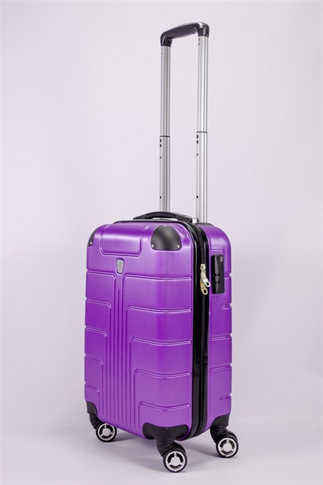 Чемодан маленький PC фиолетовый - фото 52252
