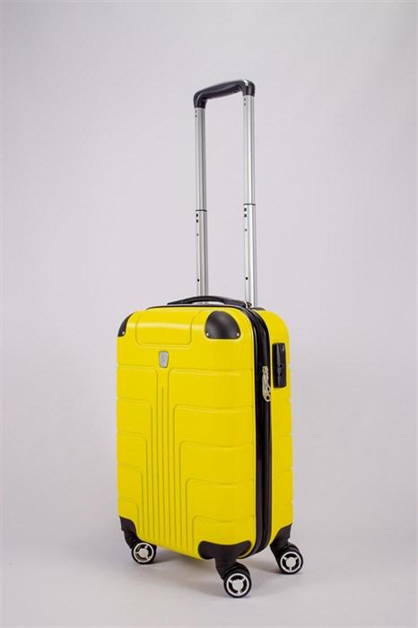 Чемодан маленький PC желтый - фото 52441