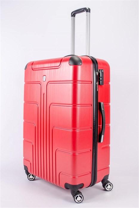 Чемодан большой PC красный - фото 52449