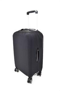 Чехол на чемодан средний черный