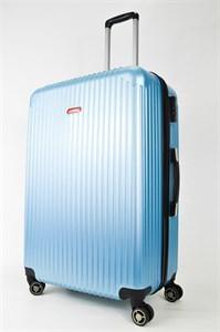 Чемодан большой ABS NL голубой