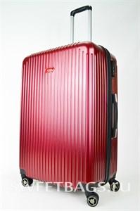 Чемодан большой ABS NL бордовый