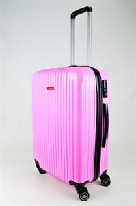 Чемодан средний ABS NL розовый