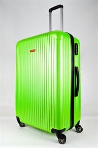 Чемодан большой ABS NL зеленый
