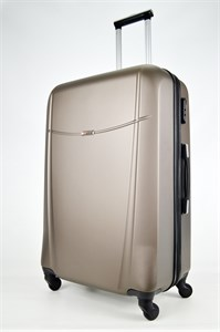 Чемодан большой ABS MAGGIE темно-коричневый