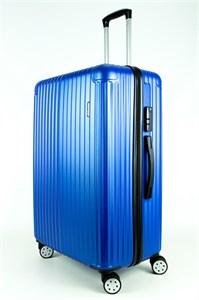 Чемодан большой ABмаленькийPC Smart Travel синий