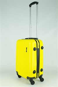 Чемодан маленький ABS TT (У-образный) желтый
