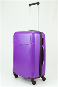 Чемодан средний ABS TT (буква Н)  фиолетовый (Ч)