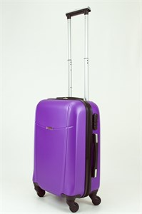 Чемодан маленький ABS TT (буква Н) фиолетовый (Ч)