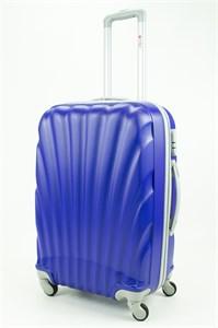 Чемодан средний ABS GC ракушка синий