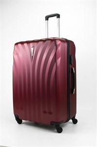 Чемодан большой ABS Lcase бордовый