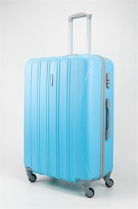 Чемодан большой ABS KK голубой