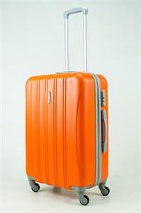 Чемодан M ABS KK 5(4) полос  оранжевый (С)