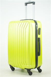 Чемодан средний ABS (У-образный) зеленый