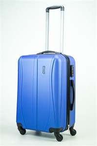 Чемодан средний ABS Freedom (трезубец) синий (Ч)