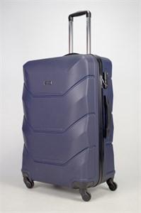 Чемодан большой ABS Freedom темно-синий (Ч)