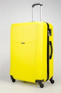 Чемодан большой ABS TT (буква Н)  желтый (Ч)