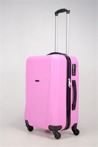Чемодан средний ABS TT (буква Н)  розовый