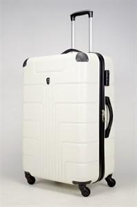 Чемодан большой ABS Smart Travel белый