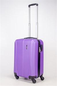 Чемодан маленький ABS Freedom (трезубец) фиолетовый
