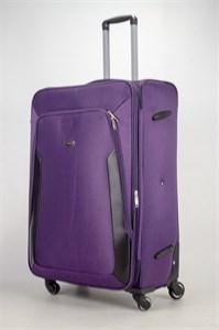 Чемодан текстильный большой Deybaul фиолетовый