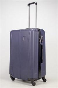 Чемодан большой ABS Freedom (трезубец) темно-синий (Ч)