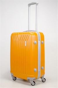 Чемодан средний ABS (У-образный) оранжевый
