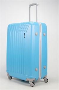 Чемодан большой ABS TT (У-образный) голубой