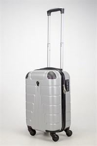 Чемодан маленький ABS Smart Travel серебро