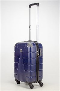 Чемодан маленький ABS Smart Travel темно-синий