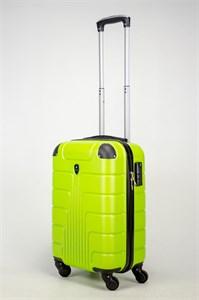 Чемодан маленький ABS SmartTravel зеленый (ч)