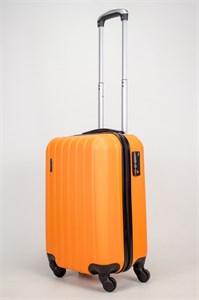 Чемодан маленький ABS Passion (7 верт. полос) оранжевый