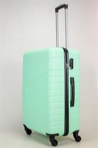 Чемодан большой ABS OCCE (вафли) мятный ЧФ