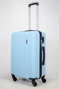 Чемодан средний ABS OCCE (15 полос) голубой