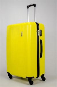 Чемодан большой ABS OCCE (15 полос) желтый