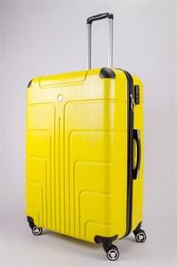Чемодан большой PC желтый