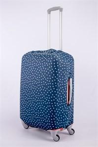 """Чехол для среднего чемодана """"мелкий горошек"""" 13374"""