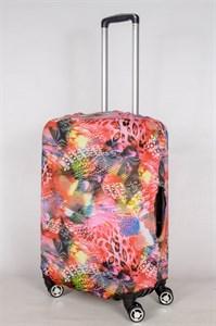 """Чехол для среднего чемодана """"разноцветная палитра"""" 13412"""