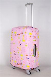 """Чехол для среднего чемодана """"детский рисунок Mamma"""" 13426"""