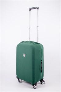 """Чехол для маленького чемодана """"однотонный зеленый"""" 13553"""