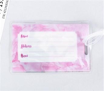 Бирка на чемодан «Цветы», 6.5 × 10 см 3613085