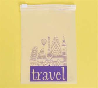 Пакет для хранения вещей вертикальный Travel, 9 × 16 см  3929655