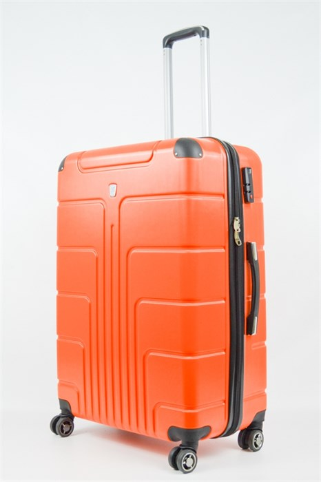 Чемодан большой PC оранжевый - фото 20325