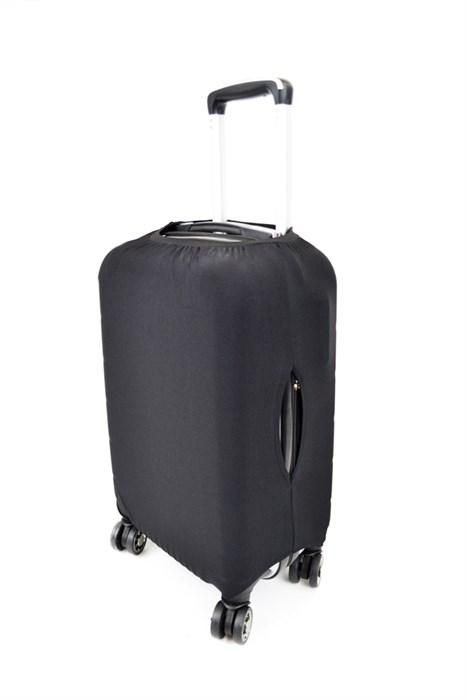 Чехол для чемодана маленький черный - фото 21069