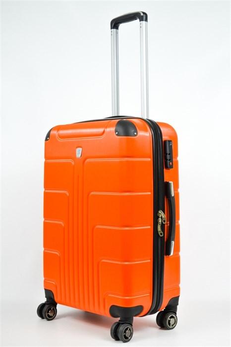 Чемодан средний PC оранжевый - фото 21474