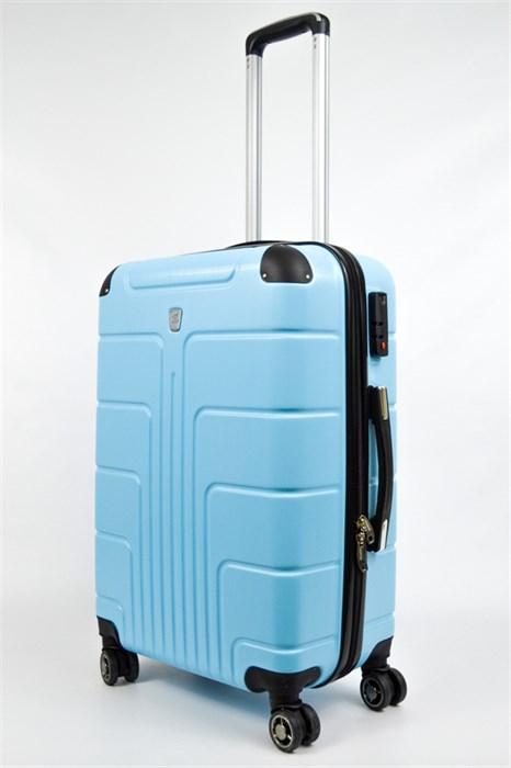 Чемодан средний PC голубой небесно - фото 21859